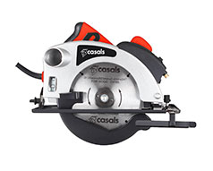 Casals Circular Saw With Laser Light Plastic Red 184mm 1200W