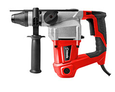 Casals Drill Rotary With Auxiliary Handle Aluminium Red 3 Function 800W