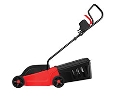 Casals Lawnmower Electric Plastic Red 300mm 1000W