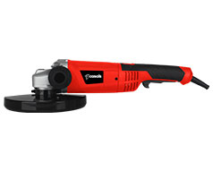 Casals Angle Grinder With Auxiliary Handle Plastic Red 230mm 2000W