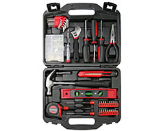 Casals Hand Tools 145 Piece Set Steel Red
