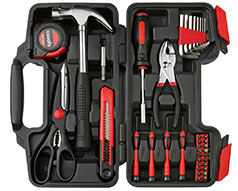 Casals Hand Tools 39 Piece Set Steel Red